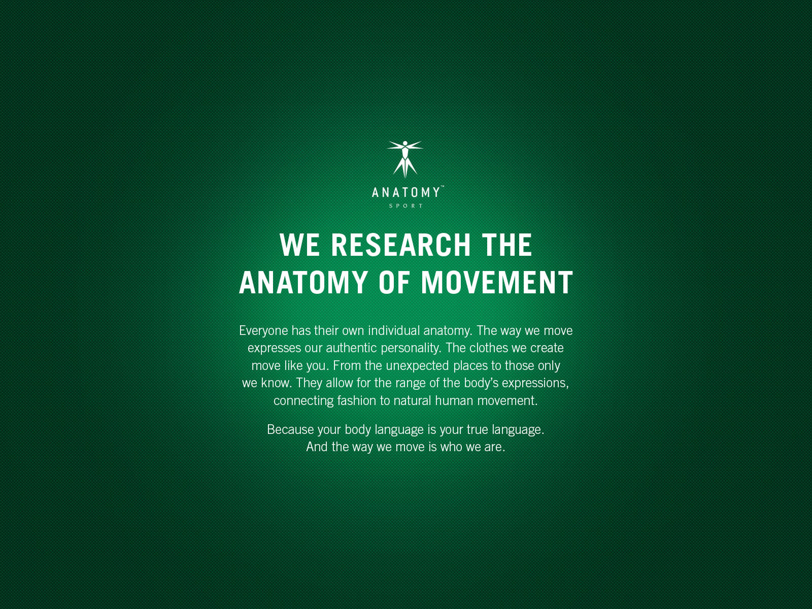 ANATOMY RESEARCH THE ANATOMY OF MOVEMENT | Oi!